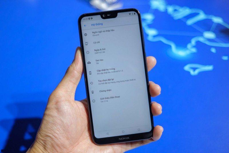 nokia 6.1 plus màn hình
