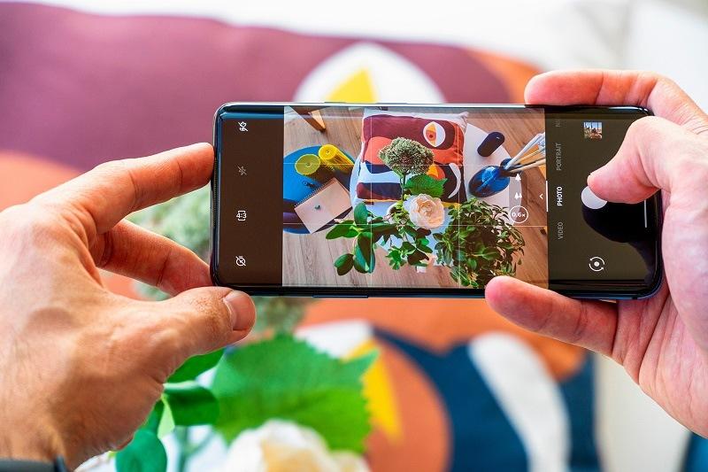 so sánh oneplus 7t pro và 7 pro giao diện camera