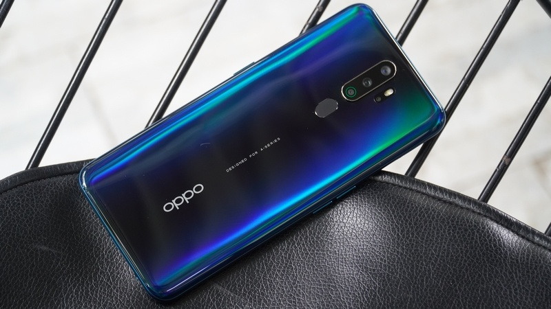 OPPO A5 thiết kế