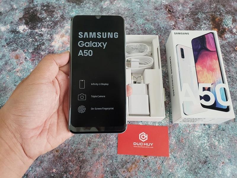 samsung galaxy a50 màn hình