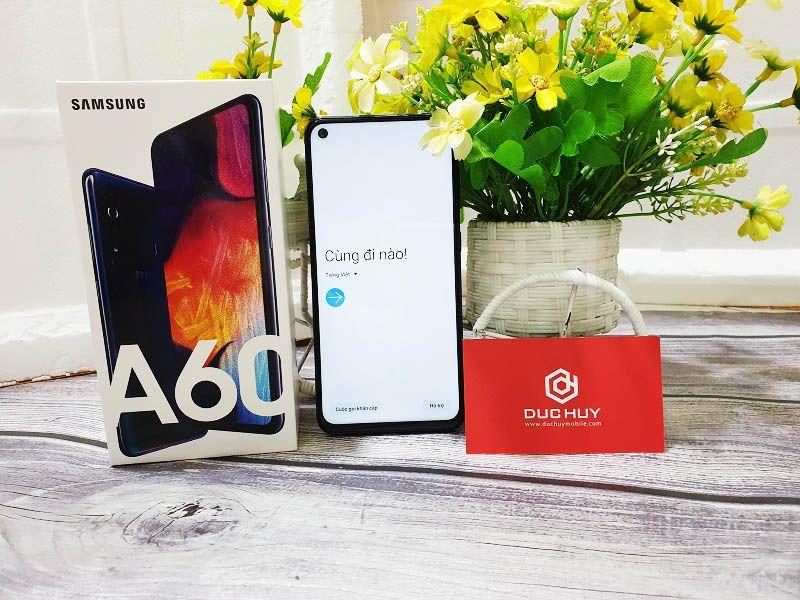 Đánh giá Samsung Galaxy A60 thiết kế