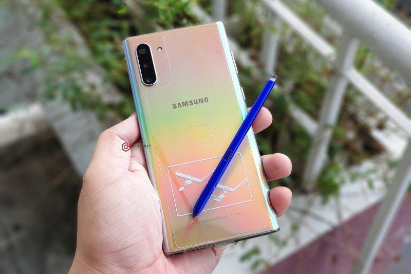 đánh giá galaxy note 10 5g hàn bút s pen