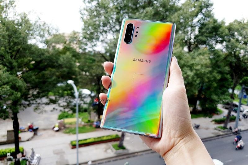 Thiết kế Galaxy Note 10 Plus