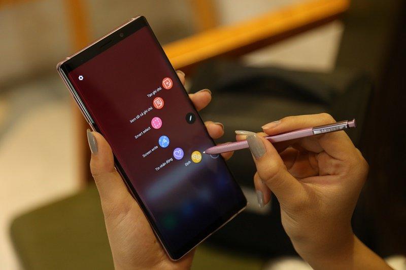 galaxy note 9 2 sim hàn bút s pen