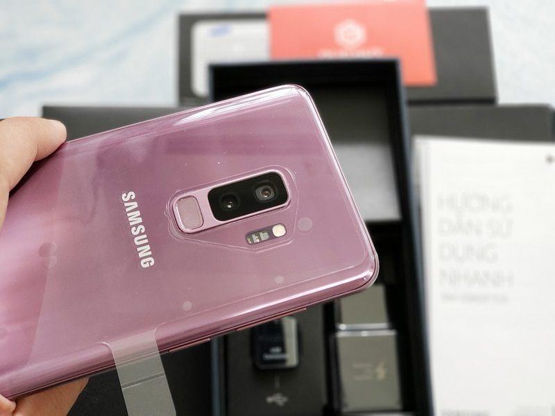 đánh giá galaxy s9 plus công ty trôi bảo hành camera