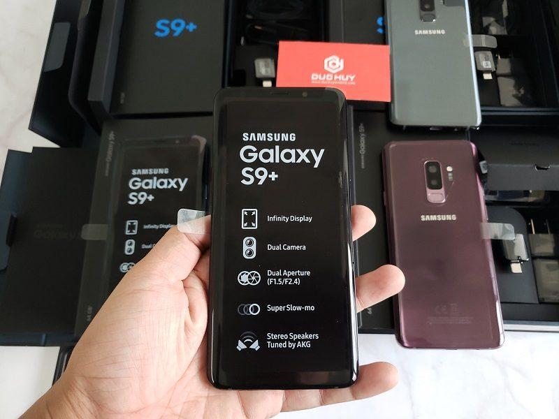 đánh giá samsung galaxy s9 plus màn hình