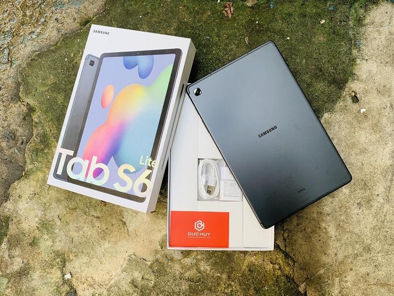 Tab S6 Lite mở hộp