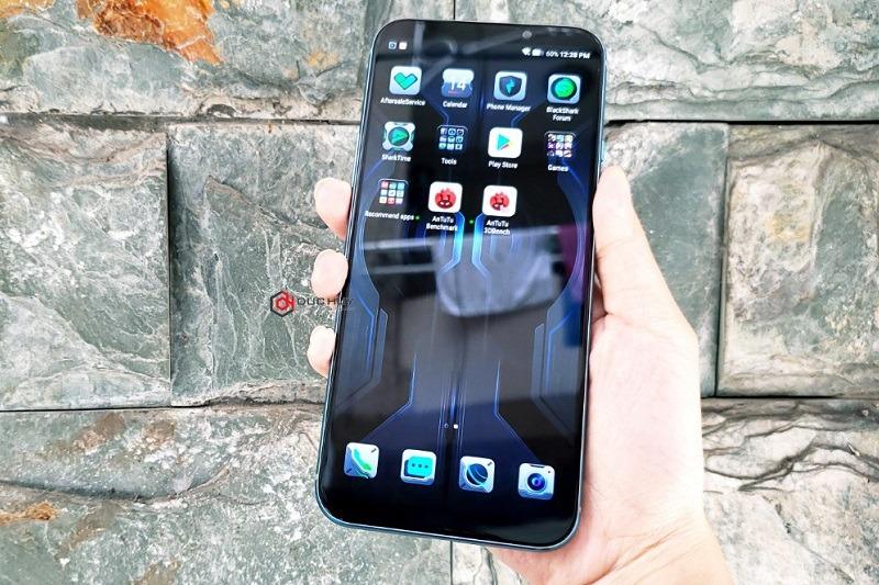 đập hộp xiaomi black shark 2 pro màn hình