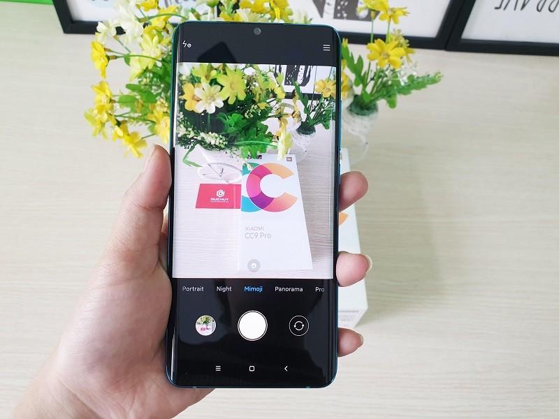 đánh giá xiaomi mi cc9 pro giao diện camera