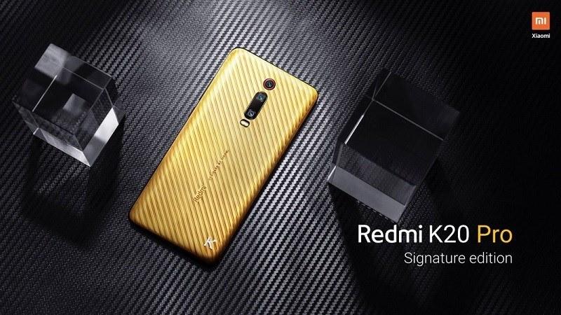 redmi k20 pro signature edition ra mắt