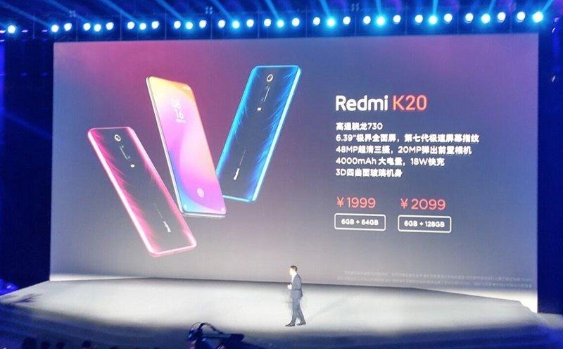 redmi k20 k20 pro ra mắt giá bán tốt