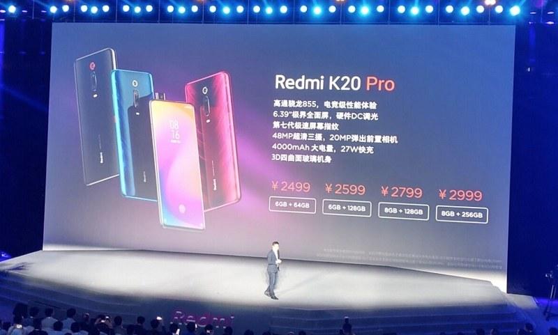 redmi k20 k20 pro ra mắt giá bán