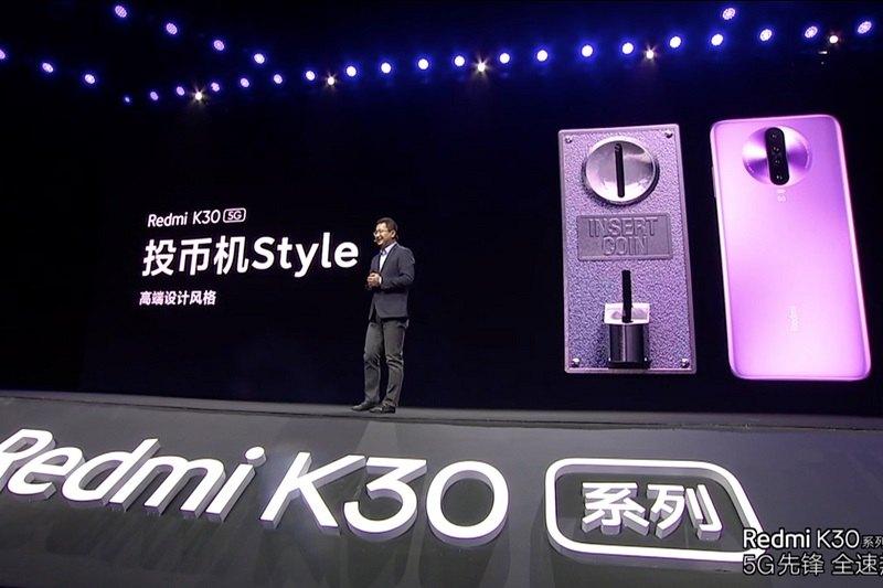 redmi k30 ra mắt chính thức