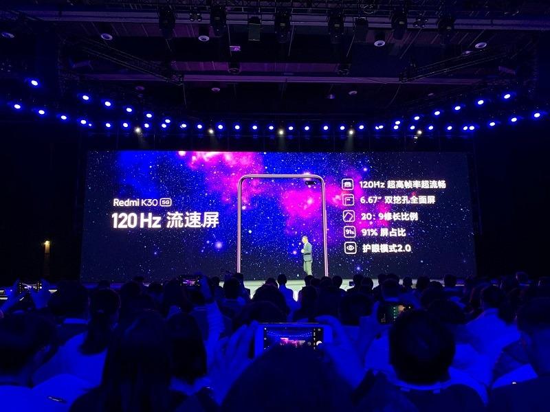 redmi k30 ra mắt thông số màn hình