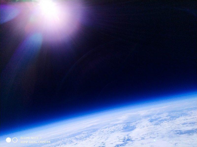 redmi note 7 chụp ảnh không gian 1