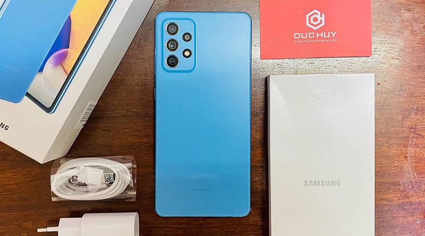Samsung Galaxy A72 (8GB   256GB) Chính Hãng