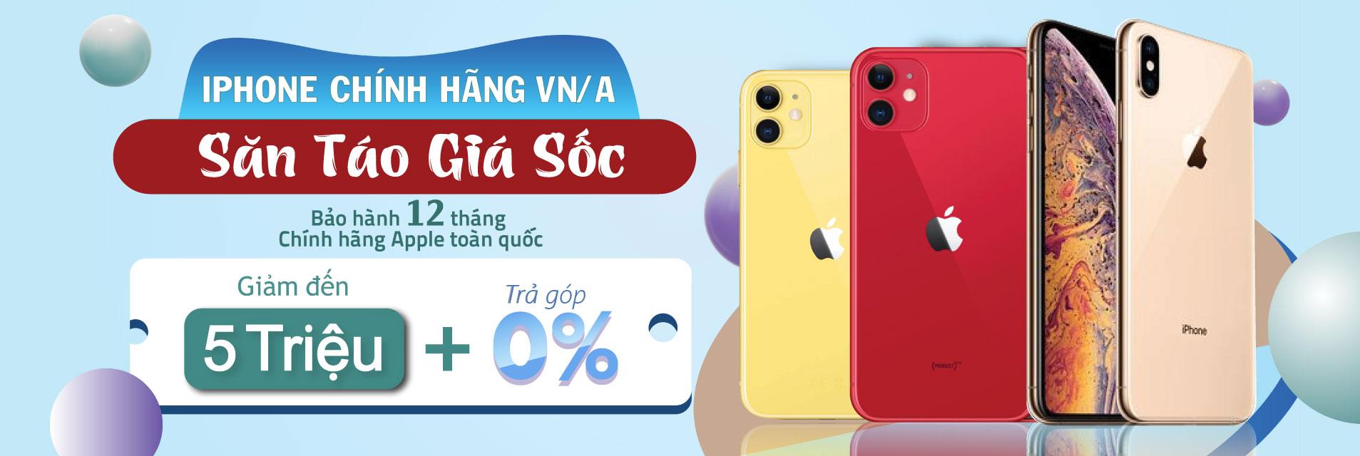 iPhone Chính Hãng VNA Giá Siêu Sốc