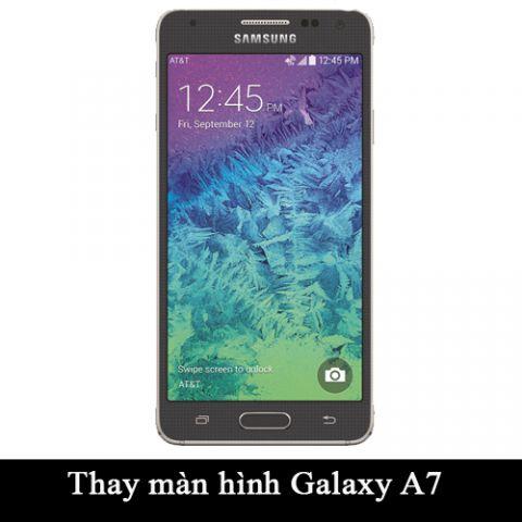 Thay màn hình, mặt kính Samsung Galaxy A7